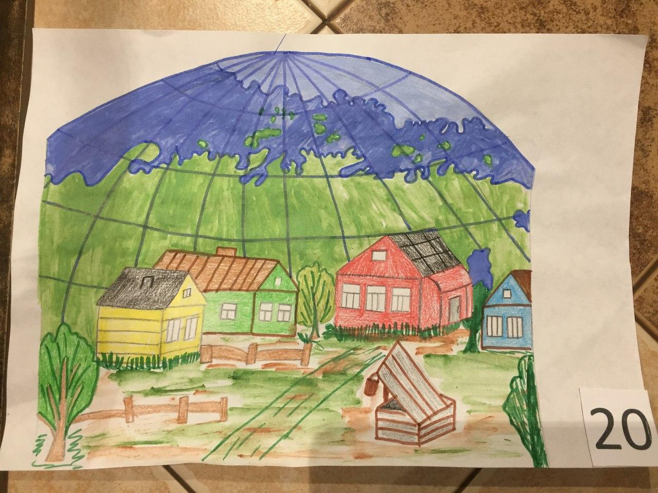 картинки на тему наше село видом